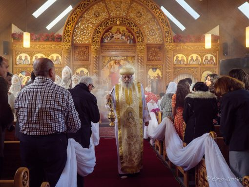 Einweihung Kopten-Kirche